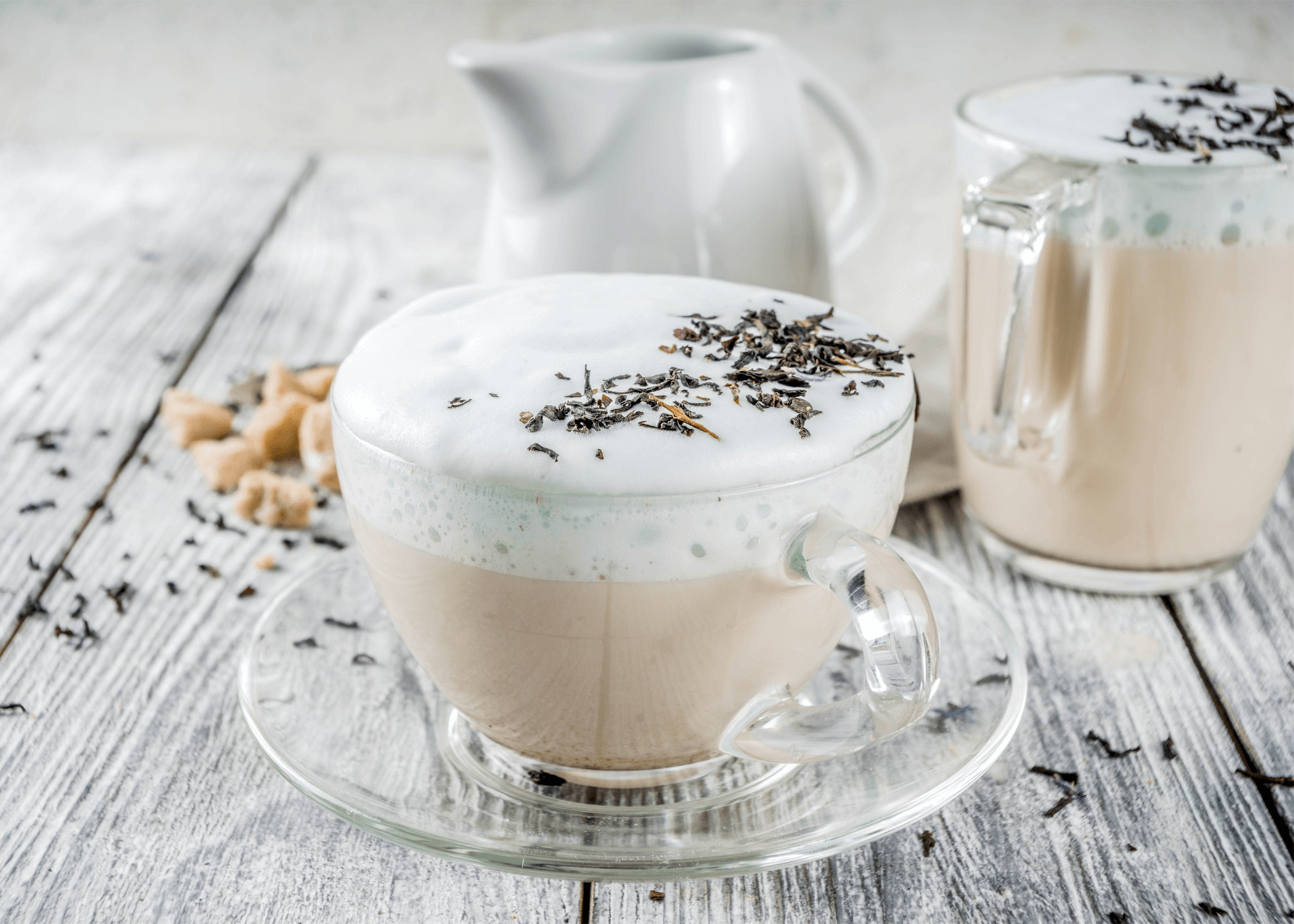 How to Make a London Fog Tea Latte Drink