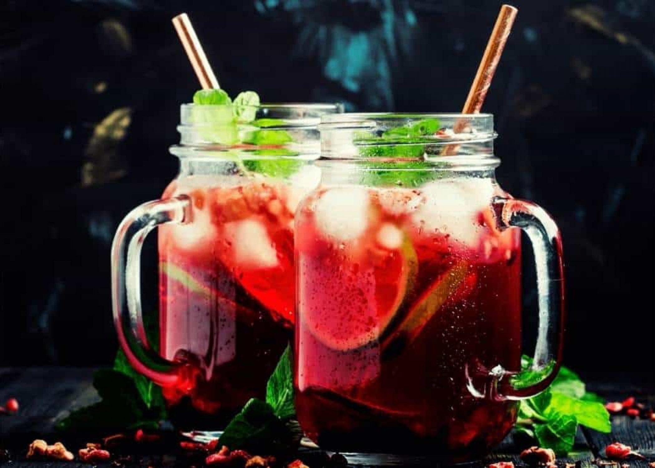 How To Make a Tropical Passion Tea Lemonade