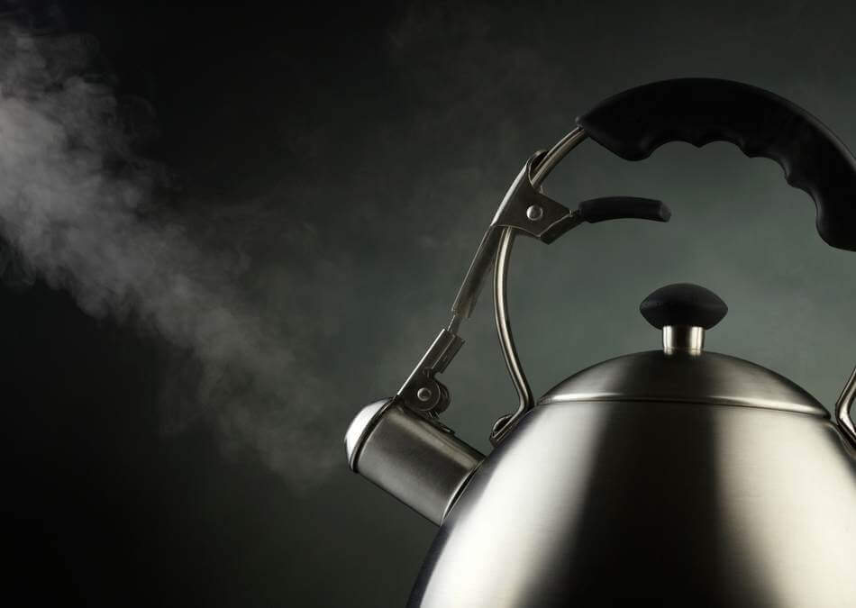 best temperature for tea kettle