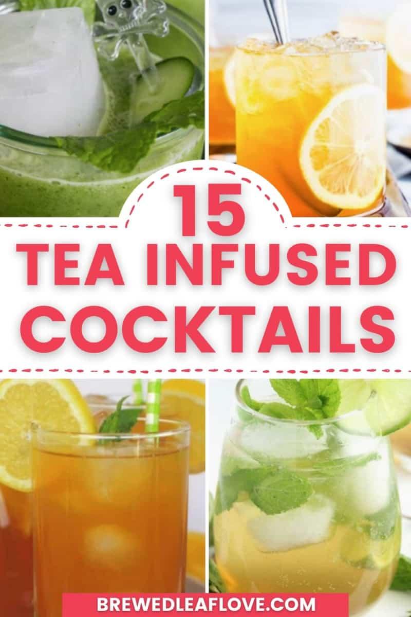 four sweet tea cocktails