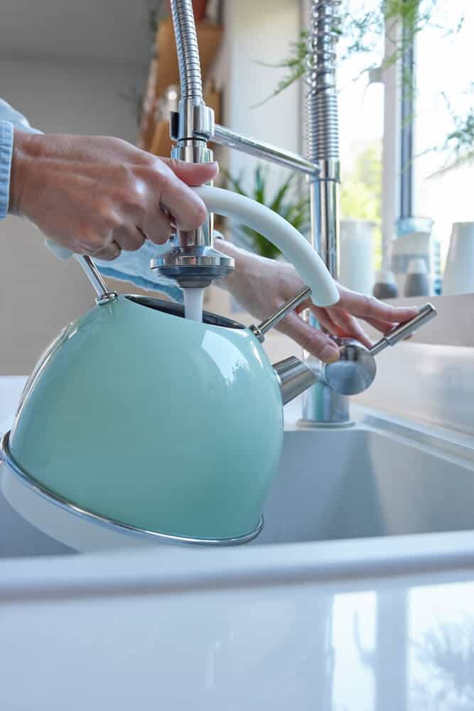 naturally clean tea kettle