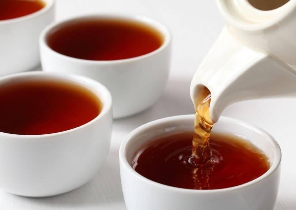 is black tea fermented