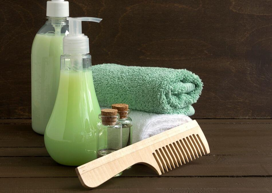 is green tea good for hair products