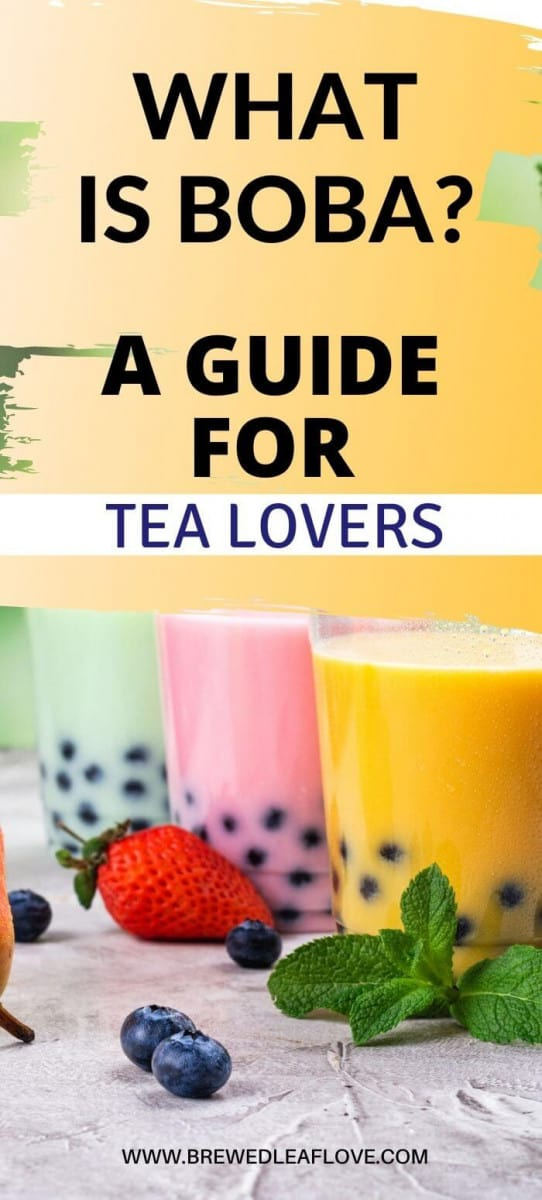 what is boba tea guide