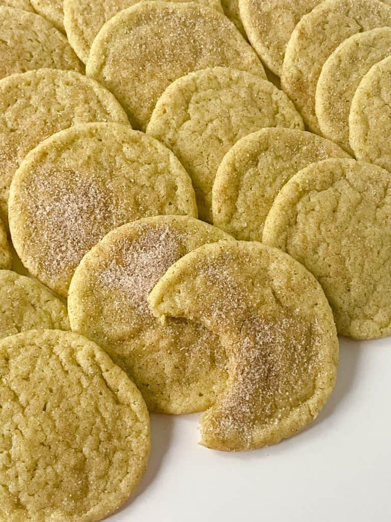 matcha snickerdoodle recipe