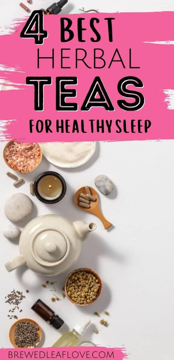 can tea help you sleep graphic