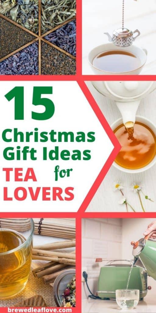 Christmas gifts for tea lovers graphics