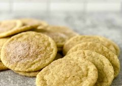 Matcha Snickerdoodle Cookies:  A Tasty Twist  on an Old Favorite!