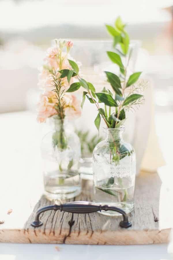 tea party flower arrangements