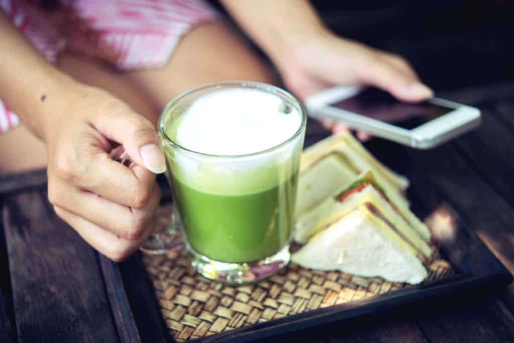 matcha latte to drink every day