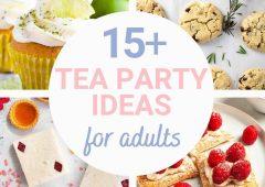 15 Elegant Tea Party Ideas for Adults