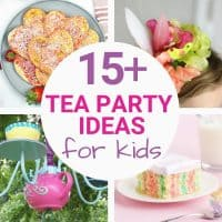 tea party food ideas for kids graphic