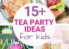 15 Tea Party Ideas for Kids