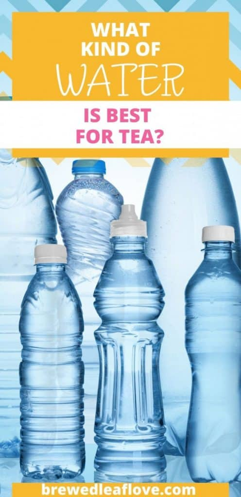 best water for tea graphic