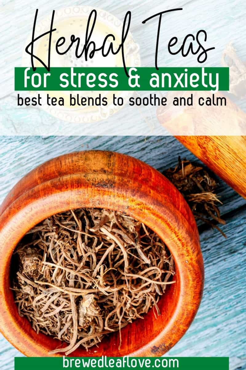 tea for anxiety and stress graphic