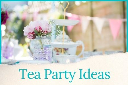 tea party ideas graphic