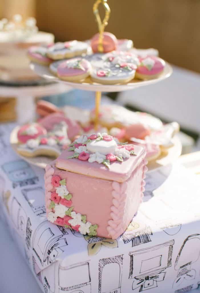 ladies Paris tea party inspiration