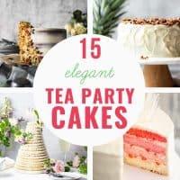 cake ideas for tea party