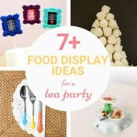 decorating for a tea party ideas