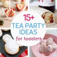 ideas for toddler tea party