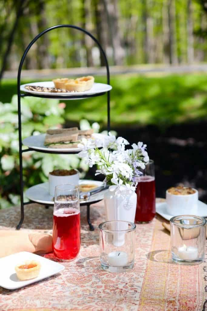 ladies tea party garden