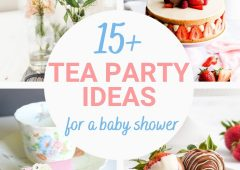 15 Adorable Tea Party Ideas for Baby Showers