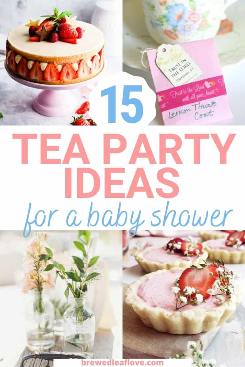 tea party ideas for baby showers